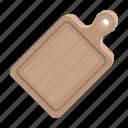 board, cooking, cutting, equipment, food, wood