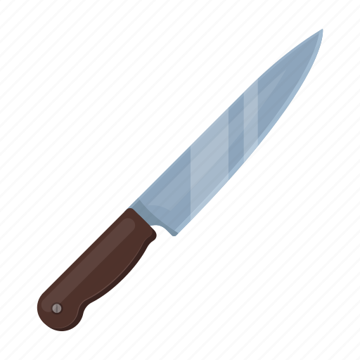 blade, handle, kitchen, knife, steel, tool icon