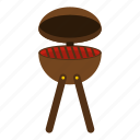 barbecue, bbq, charcoal, food, grill, hot, outdoor icon