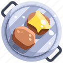barbecue grill, bbq, beef, berger, food icon