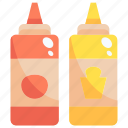 bottle, cook, food, sauce icon