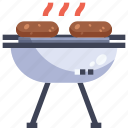 barbecue grill, bbq, beef, food, grilled, meat icon