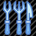 cutlery, food, metal, tools icon