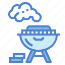 bbq, cooking, equipment, food, grill icon