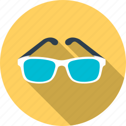 beach, clouds, glasses, summer, sun, sunlight, weather icon
