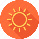 beach, holiday, hot, sea, summer, sun, sunlight icon