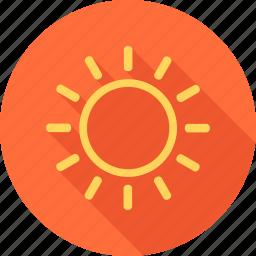 beach, holiday, hot, sea, summer, sun, sunlight icon
