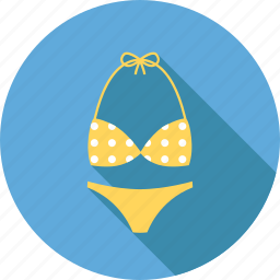 beach, bikini, holiday, sea, summer, swim, travel icon