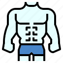 body, handsome, man, swimming, swimsuits icon