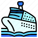 boat, cruise, liner, ship, yacht