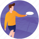 beach frisbee, beach game, frisbee, frisbee beach frisbee, outdoor sports icon