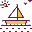 boat, marine, sea, ship icon