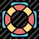 help, lifeguard, lifesaver, saver, security icon