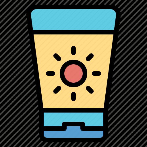 block, protection, sun, uv icon