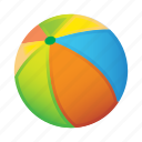 ball, beach, game icon
