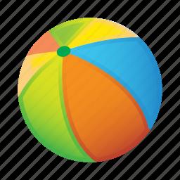 ball, beach, game icon