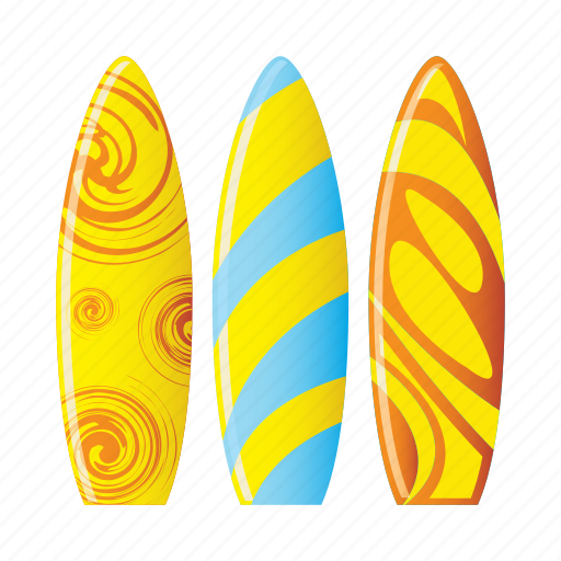 beach, board, sport, swirl, wave icon