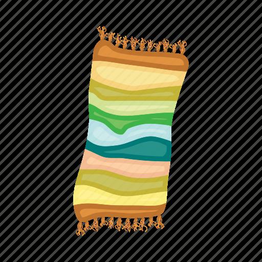 towel, vacation icon