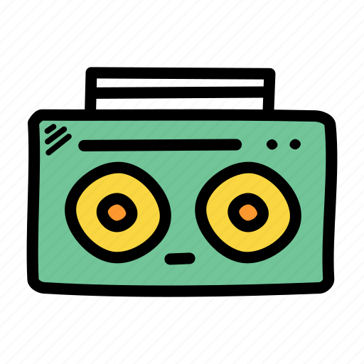 audio, music, player, radio icon