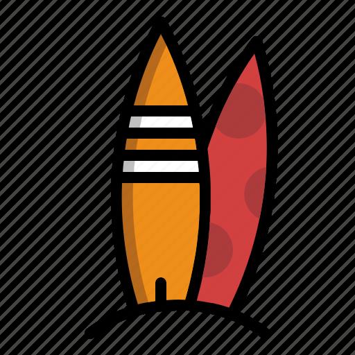 beach, board, sport, surf, surfboard icon