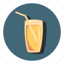 cup, drink, glass, juice icon