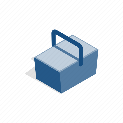 bag, bottle, box, cold, drink, isometric, refrigerator icon