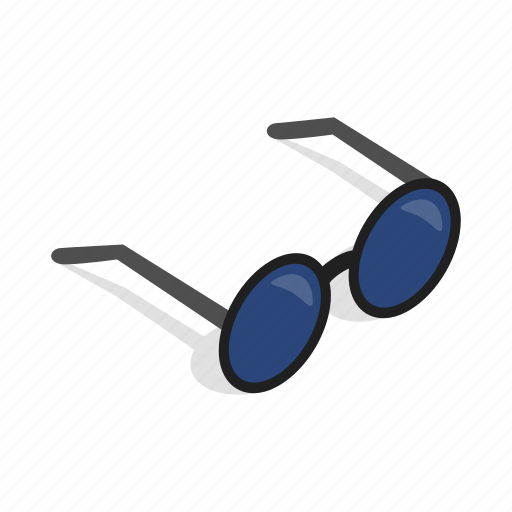 design, eye, glasses, isometric, lens, optical, vision icon