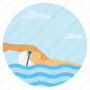 diving, holiday, oceans, relax, scuba diving, summer, vacation icon