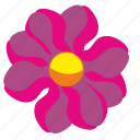 bud, flower, rose, rowan icon