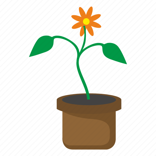 Bud, flower, pot icon - Download on Iconfinder on Iconfinder