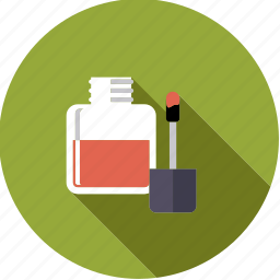 bathroom, beauty, body care, makeup, nail varnish icon