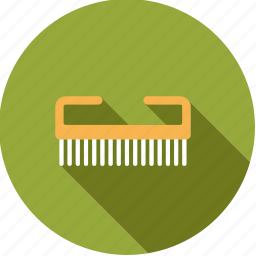 bathroom, body care, brush, hygiene, nail brush icon