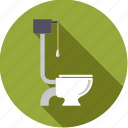 bathroom, fixture, hygiene, toilet, wc icon