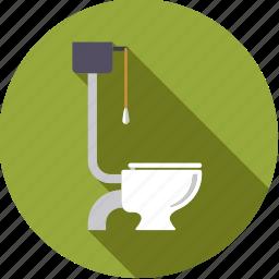 bathroom, fixture, hygiene, toilet, wc icon