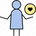 find, heart, love, people, romantic icon
