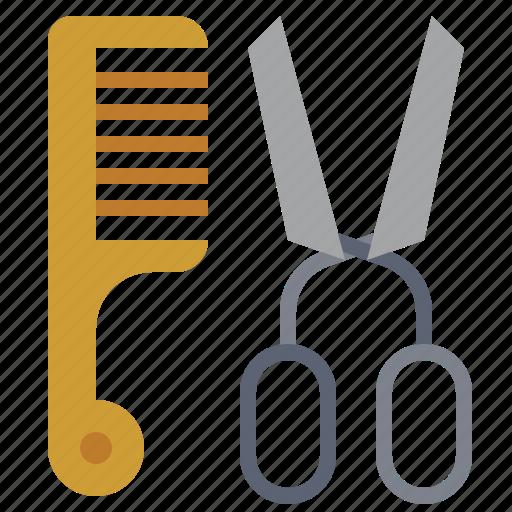 barbershop, beaut, cut, cutlery, cutting, knife, scissors icon