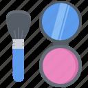 beauty, box, brush, makeup, mirror, puff, style