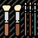 salon, fashion, makeup, beauty, brush
