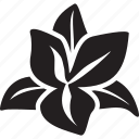 floral, flower, garden, lotus, nature, plant, spa icon
