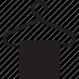 hanger, towel icon