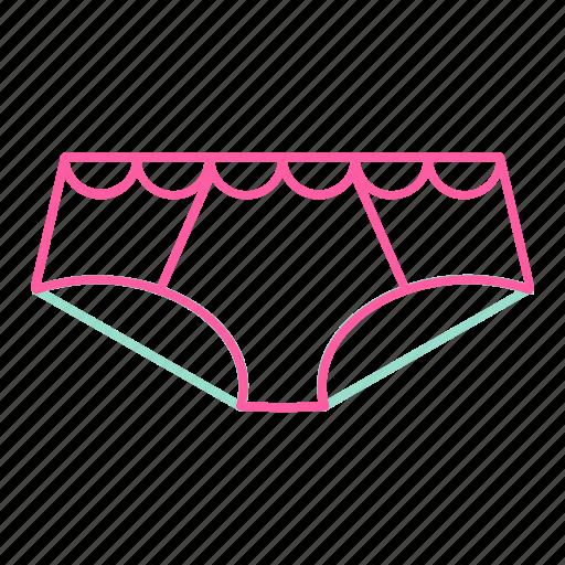 beauty, girl, panties, underwear icon