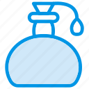 fragrance, perfume, scent, spray icon