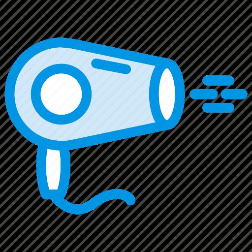 blower, dry, dryer, salon icon