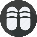 beauty, beautyspa, fashion, slippers, treatment icon