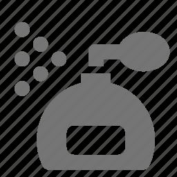 bottle, perfume, spray icon