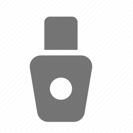 bottle, nail polish, shampoo icon