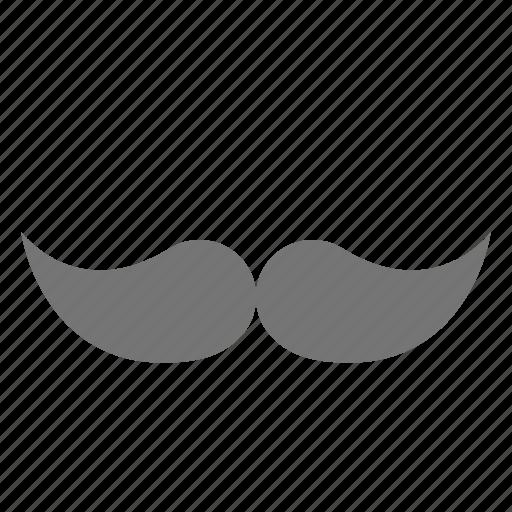 hair, moustache, mustache icon