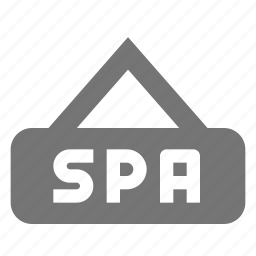 sign, spa icon