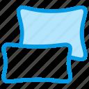 bedding, bedroom, cushion, orthopedics, pillows, sleep icon