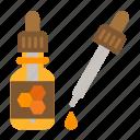 bee, beehive, bottle, honey, honeycomb, propolis, tincture